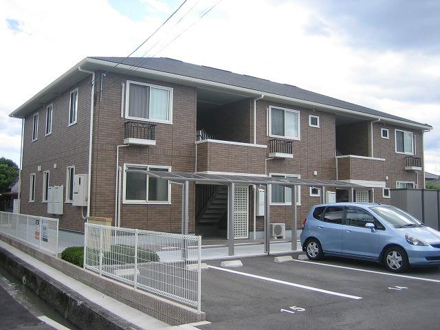 高知県南国市、後免町駅徒歩4分の築9年 2階建の賃貸アパート
