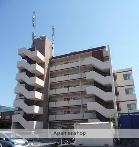 高知県高知市、上町五丁目駅徒歩14分の築29年 6階建の賃貸マンション