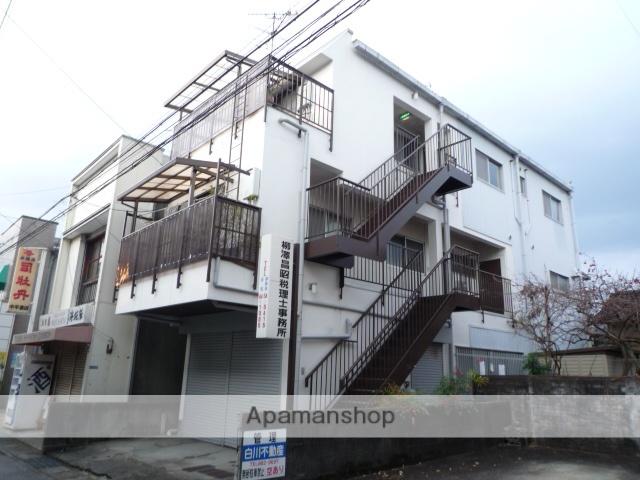 高知県高知市、宝永町駅徒歩3分の築21年 3階建の賃貸アパート