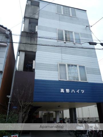 高知県高知市、高知駅徒歩6分の築27年 4階建の賃貸アパート