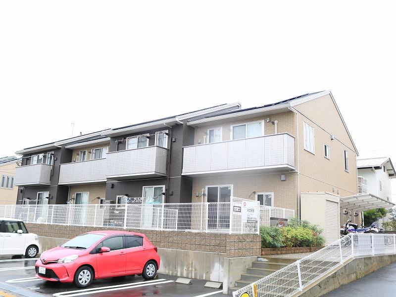 高知県南国市、後免町駅徒歩8分の築2年 2階建の賃貸アパート