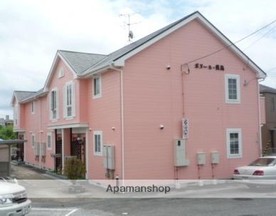 高知県香南市、のいち駅徒歩4分の築17年 2階建の賃貸アパート