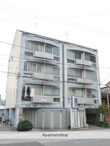 高知県高知市、葛島橋東詰駅徒歩1分の築27年 4階建の賃貸アパート
