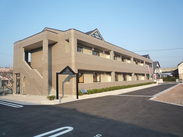 高知県南国市の築7年 2階建の賃貸マンション