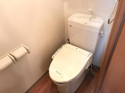 アンセリジェ[1K/29.75m2]のトイレ