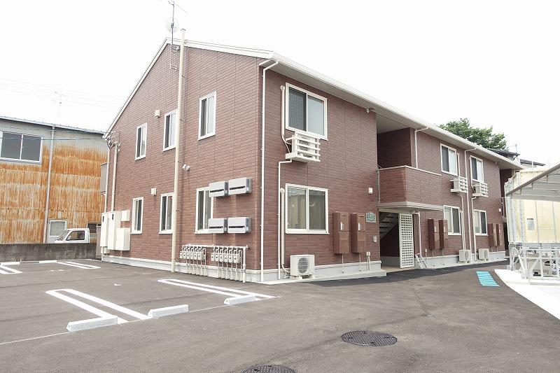 高知県香南市、よしかわ駅徒歩16分の新築 2階建の賃貸アパート