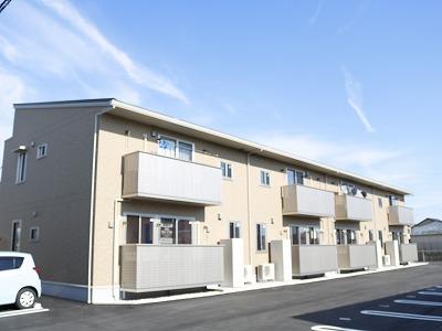 高知県南国市、東工業前駅徒歩10分の新築 2階建の賃貸アパート
