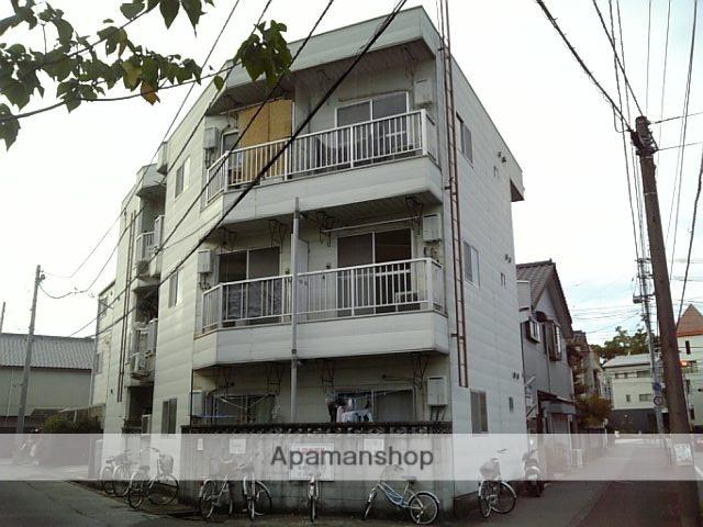 高知県高知市、大橋通駅徒歩9分の築27年 3階建の賃貸アパート