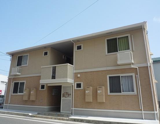 高知県高知市の築7年 2階建の賃貸アパート