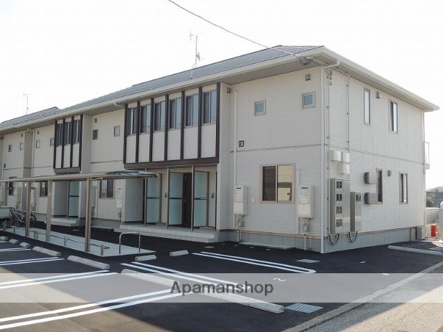 高知県香南市、のいち駅徒歩5分の築4年 2階建の賃貸アパート
