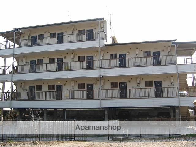高知県南国市、後免西町駅徒歩1分の築24年 4階建の賃貸マンション