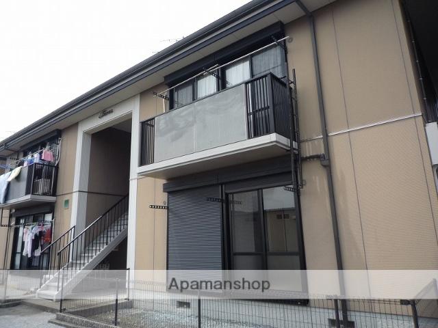 高知県南国市、東工業前駅徒歩10分の築17年 2階建の賃貸アパート