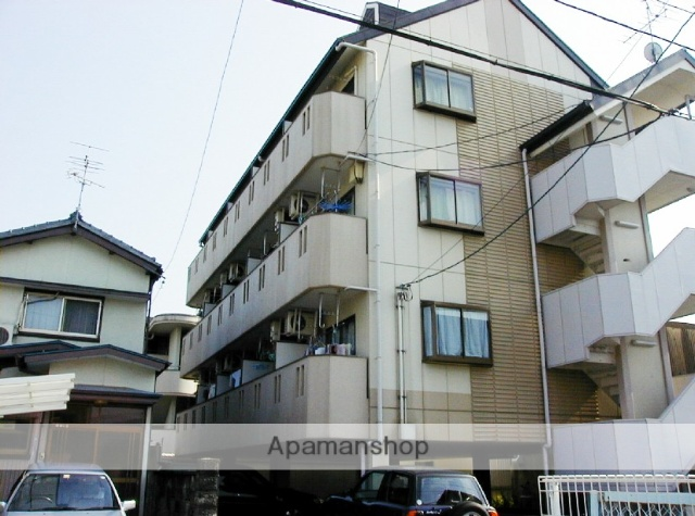 高知県高知市、県立美術館通駅徒歩3分の築24年 4階建の賃貸マンション