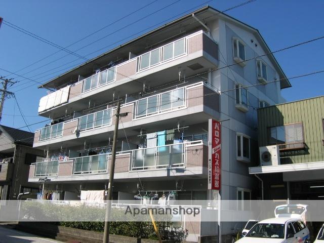 高知県高知市、高須駅徒歩2分の築20年 4階建の賃貸マンション