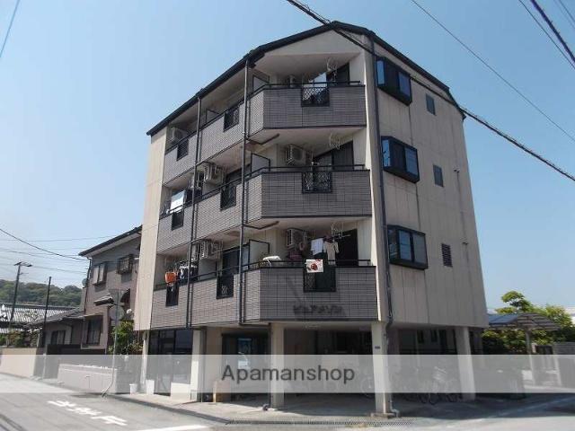 高知県高知市、西高須駅徒歩6分の築23年 4階建の賃貸アパート