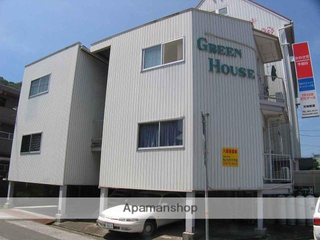 高知県高知市、梅の辻駅徒歩8分の築32年 3階建の賃貸マンション