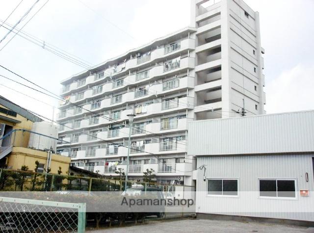 高知県高知市、県立美術館通駅徒歩2分の築36年 8階建の賃貸マンション