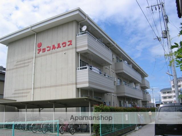 高知県高知市、介良通駅徒歩5分の築21年 3階建の賃貸アパート