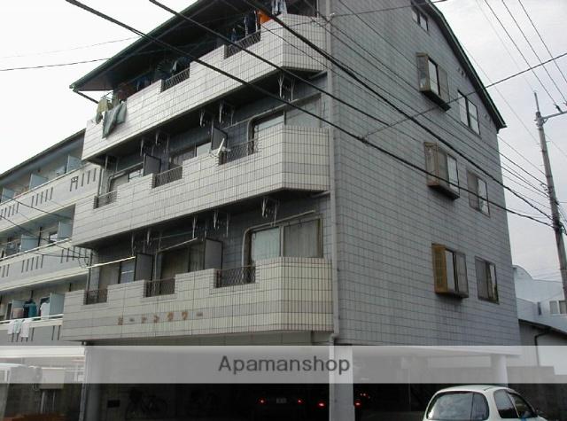 高知県高知市、東新木駅徒歩10分の築25年 4階建の賃貸マンション
