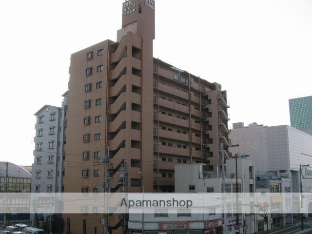 高知県高知市、宝永町駅徒歩1分の築26年 14階建の賃貸マンション