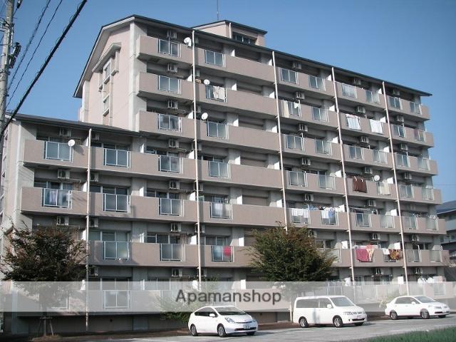高知県高知市、県立美術館通駅徒歩6分の築20年 7階建の賃貸マンション