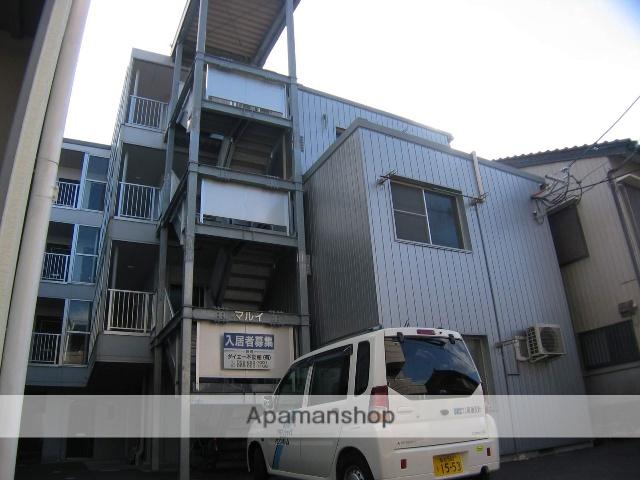 高知県高知市、知寄町一丁目駅徒歩5分の築42年 4階建の賃貸マンション