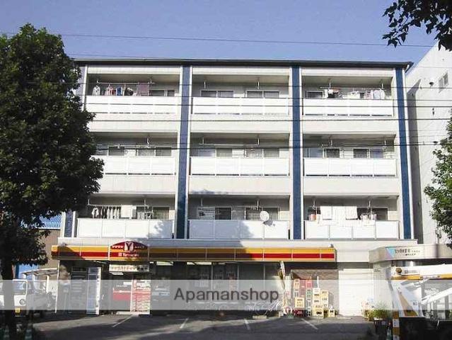 高知県高知市、知寄町一丁目駅徒歩3分の築18年 4階建の賃貸マンション