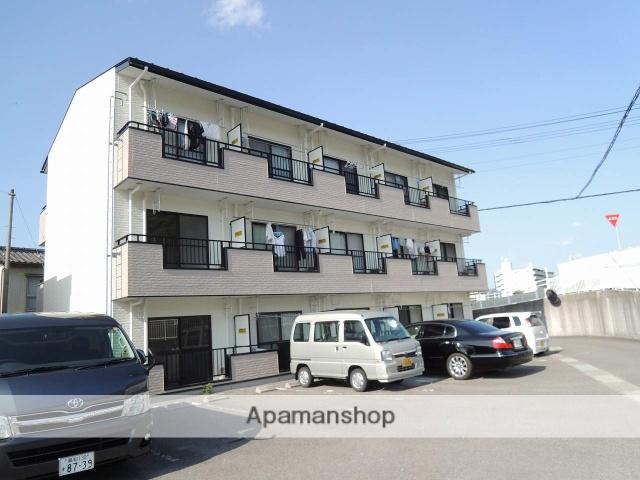 高知県高知市、北浦駅徒歩1分の築19年 3階建の賃貸アパート