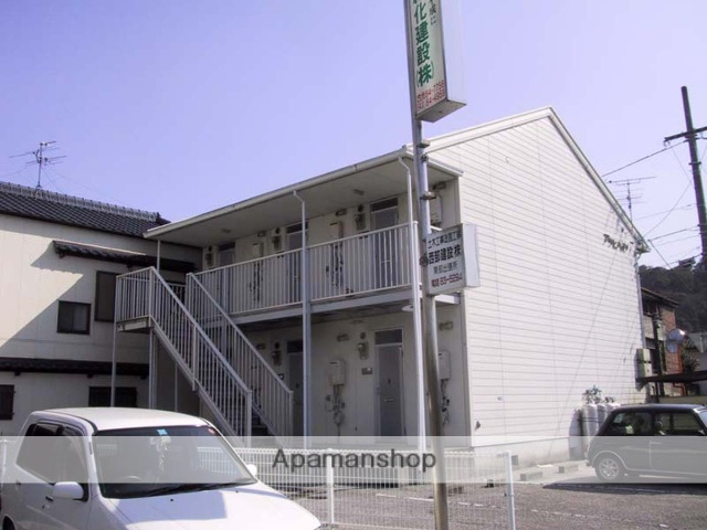 高知県高知市、葛島橋東詰駅徒歩5分の築23年 2階建の賃貸アパート