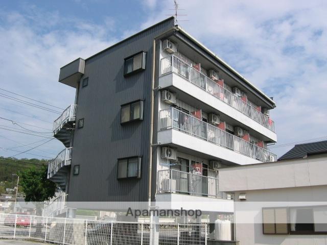 高知県南国市、後免駅徒歩7分の築23年 4階建の賃貸アパート