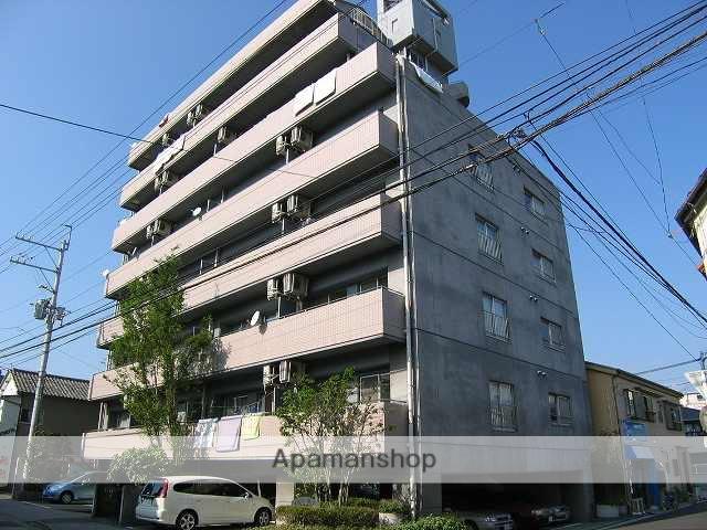 高知県高知市、菜園場町駅徒歩3分の築21年 10階建の賃貸マンション