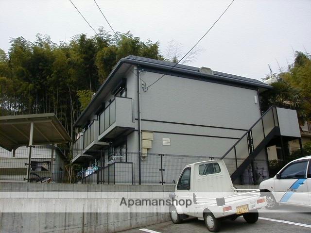 高知県高知市、領石通駅徒歩5分の築27年 2階建の賃貸アパート