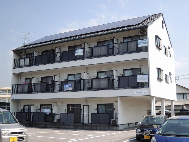 高知県高知市、舟戸駅徒歩2分の築22年 3階建の賃貸マンション
