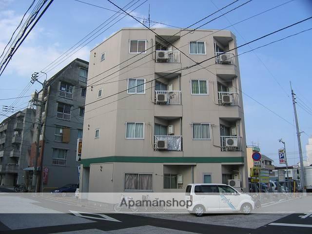 高知県高知市、デンテツターミナルビル前駅徒歩6分の築23年 4階建の賃貸マンション
