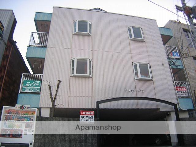高知県南国市、後免中町駅徒歩5分の築20年 4階建の賃貸マンション