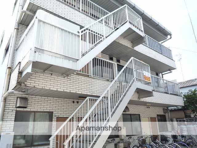高知県高知市の築33年 3階建の賃貸アパート