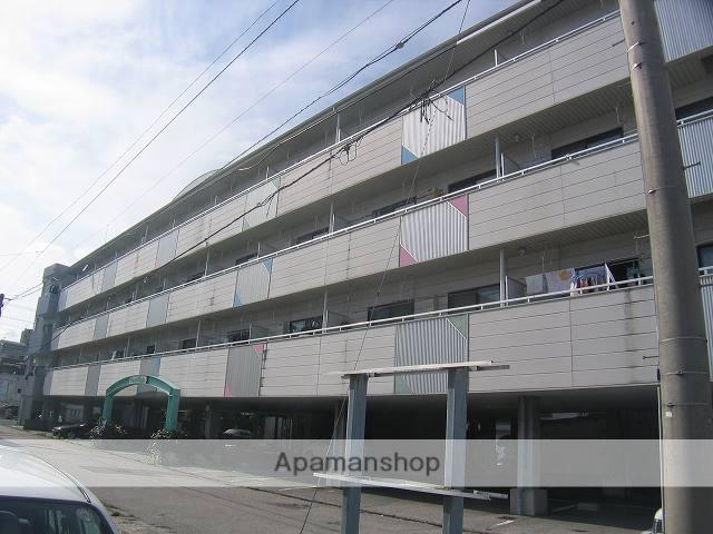 高知県高知市、梅の辻駅徒歩3分の築18年 4階建の賃貸マンション