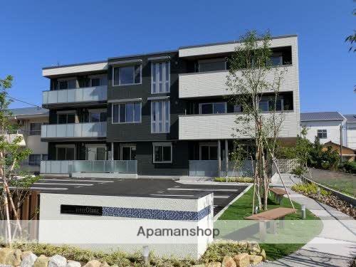高知県南国市、後免西町駅徒歩5分の新築 3階建の賃貸マンション
