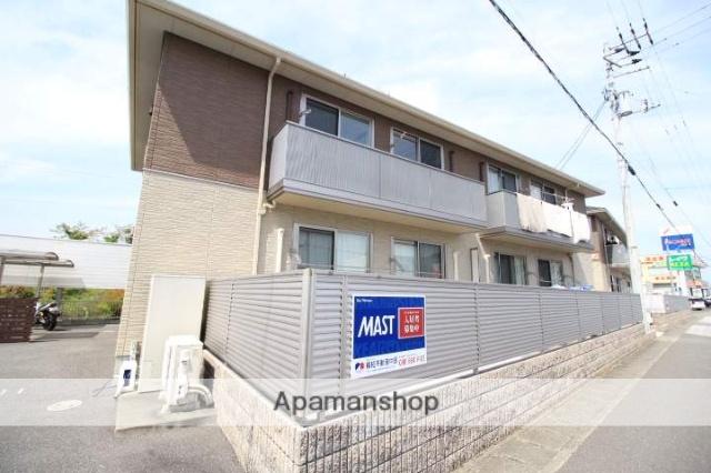 高知県高知市、土佐大津駅徒歩1分の築4年 2階建の賃貸アパート