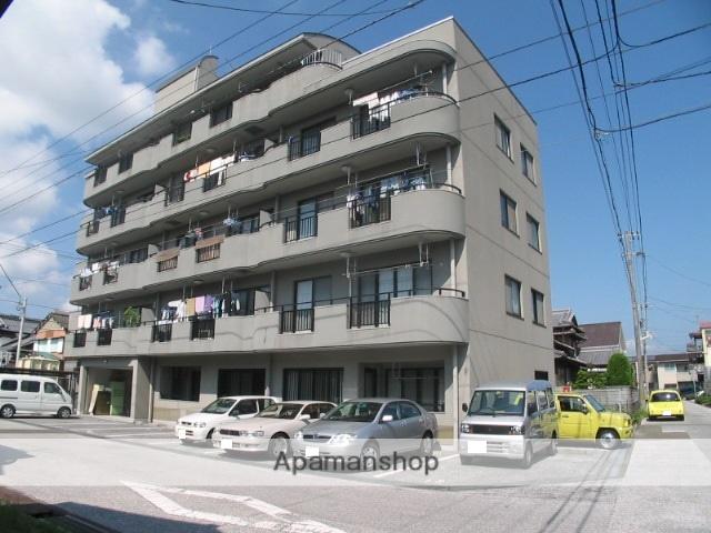 高知県高知市、梅の辻駅徒歩10分の築20年 4階建の賃貸マンション