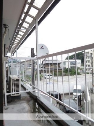 西泉荘[2K/33.06m2]のバルコニー