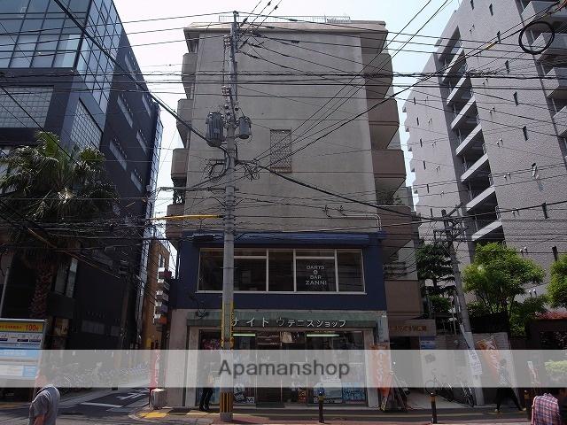 福岡県福岡市中央区、天神駅徒歩9分の築37年 6階建の賃貸マンション