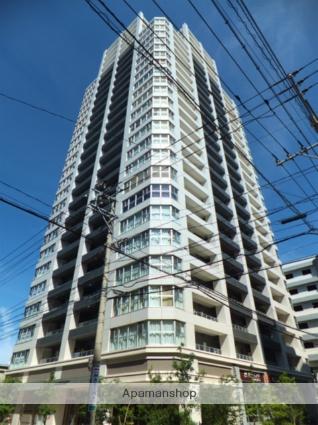 福岡県福岡市中央区、天神駅徒歩19分の築7年 30階建の賃貸マンション