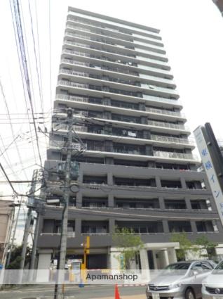 福岡県福岡市中央区、天神駅徒歩5分の築9年 18階建の賃貸マンション