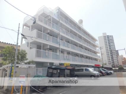福岡県福岡市中央区、天神駅徒歩12分の築32年 5階建の賃貸マンション
