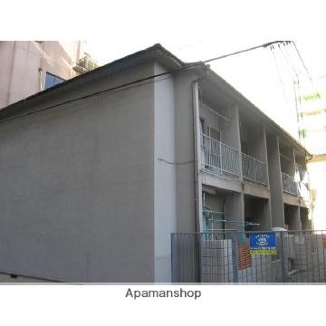 福岡県福岡市中央区、西新駅徒歩14分の築45年 2階建の賃貸アパート