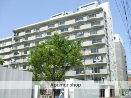 福岡県福岡市博多区、博多駅徒歩6分の築38年 9階建の賃貸マンション