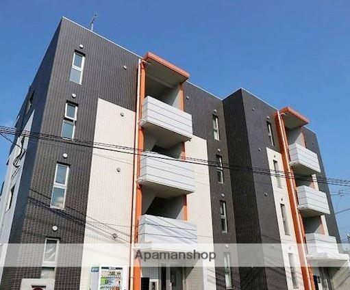 福岡県糟屋郡須惠町、須恵駅徒歩17分の新築 4階建の賃貸マンション