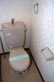 シャンテ吉塚[1K/24.96m2]のトイレ