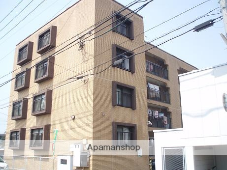 福岡県福岡市東区、箱崎駅徒歩12分の築34年 4階建の賃貸マンション